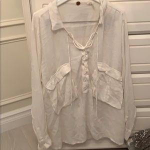 Free people one peasant blouse